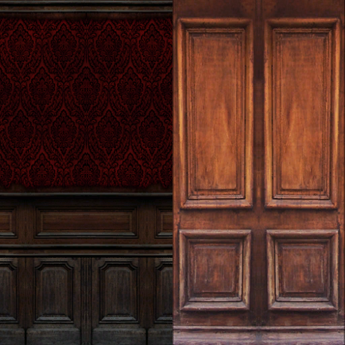 Ts4 Old Wood Walls Noir And Dark Sims