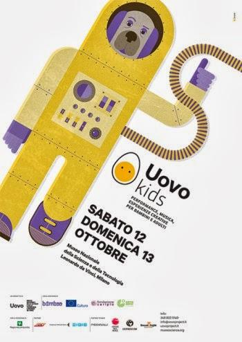 Cosa fare a Milano nel weekend coi bambini: Uovokids al Museo Scienza