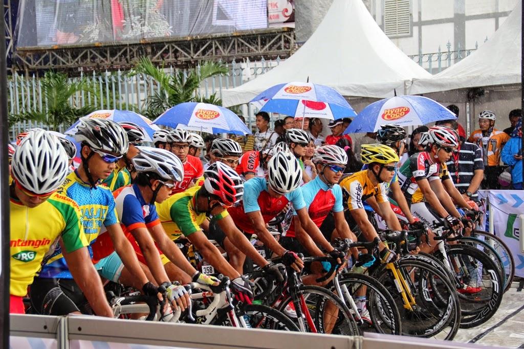 Lomba Balap Sepeda Road bike 2014