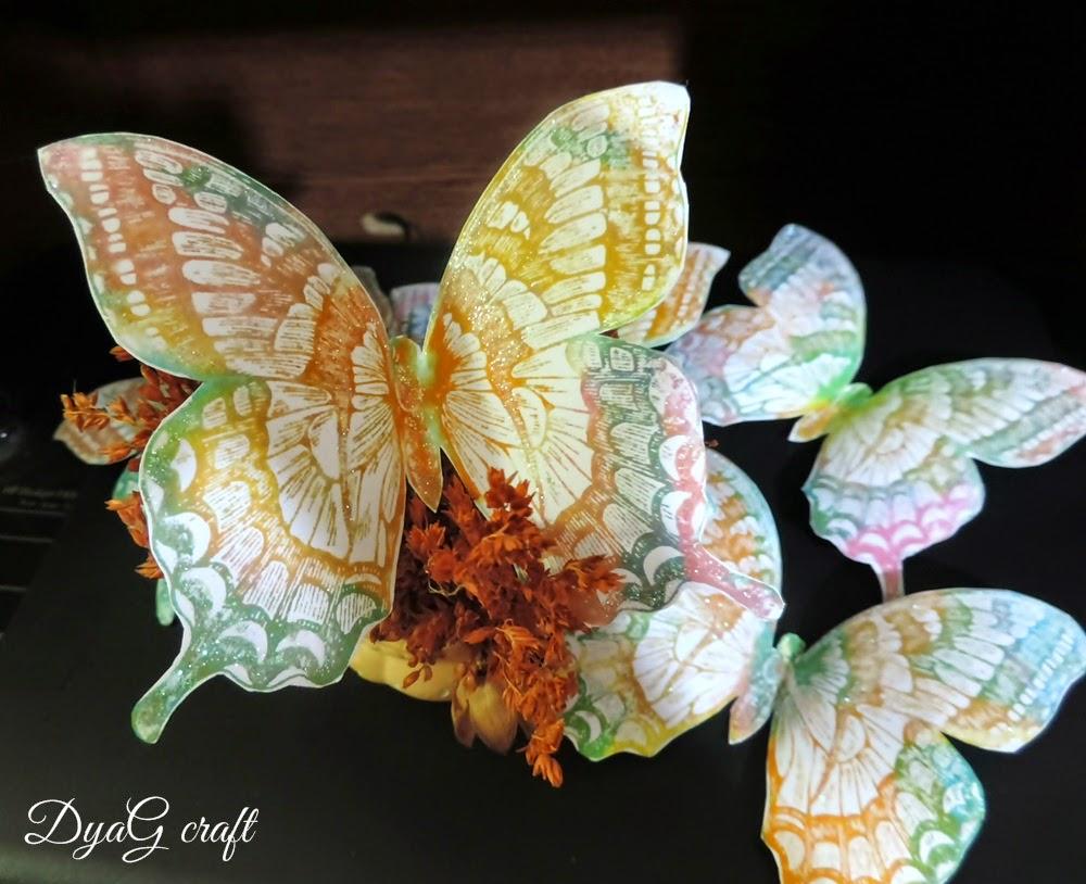 fluture dimensiuni mari pentru decorarea meselor de nunta