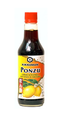 Ponzu Sauce by Kikkoman, now available in most grocery stores