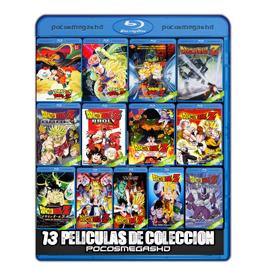 13 PELICULAS|DRAGON BALL Z|BRRIP 720P|AUDIO DUAL|LATINO/INGLES 5.1 (peliculas hd )