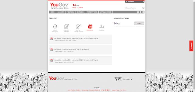 Bukti Pembayaran YouGov