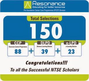 NTSE STAGE-2 RESULT