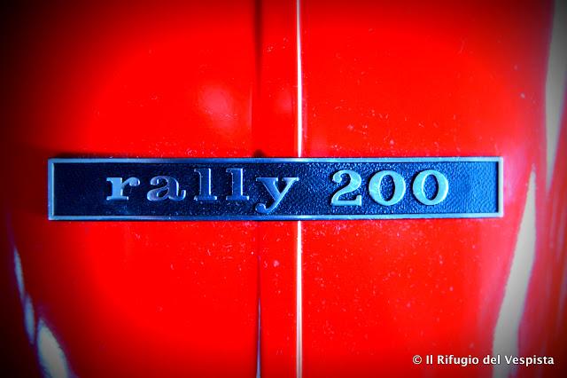 Restauro Vespa 200 Rally