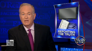 Bill O'Reilly discussing Sean Bergin's suspension.