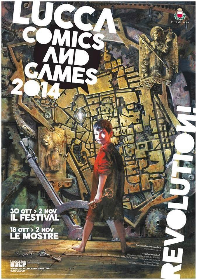 LUCCA COMICS AND GAMES 2014, LE NOVITA' DI QUESTA EDIZIONE