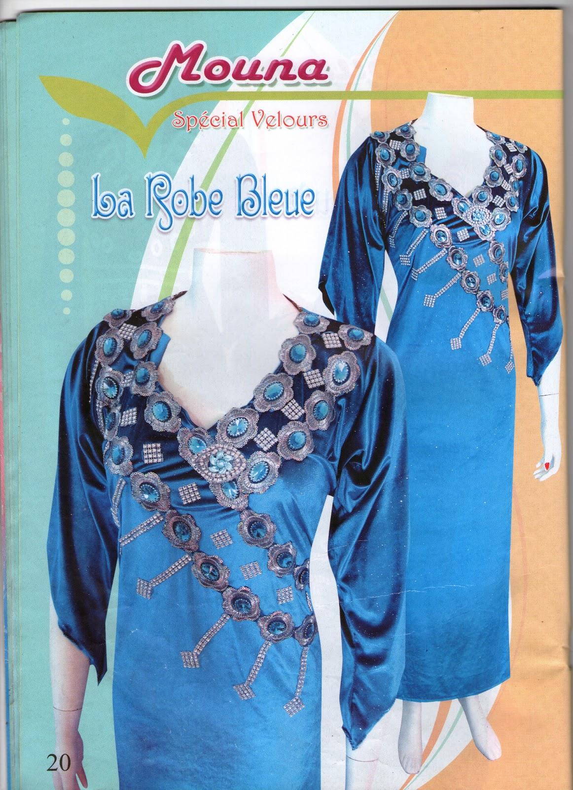 magazine mona collection gandoura catifa n2