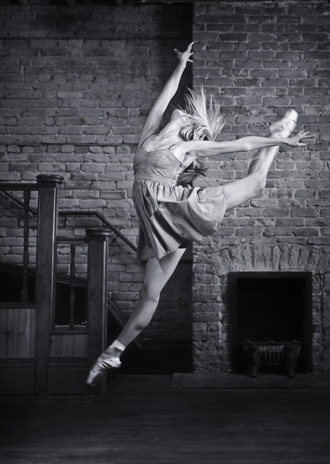 """Freestyle Ballerina"" ballerina project, Boise. By Mike Reid."
