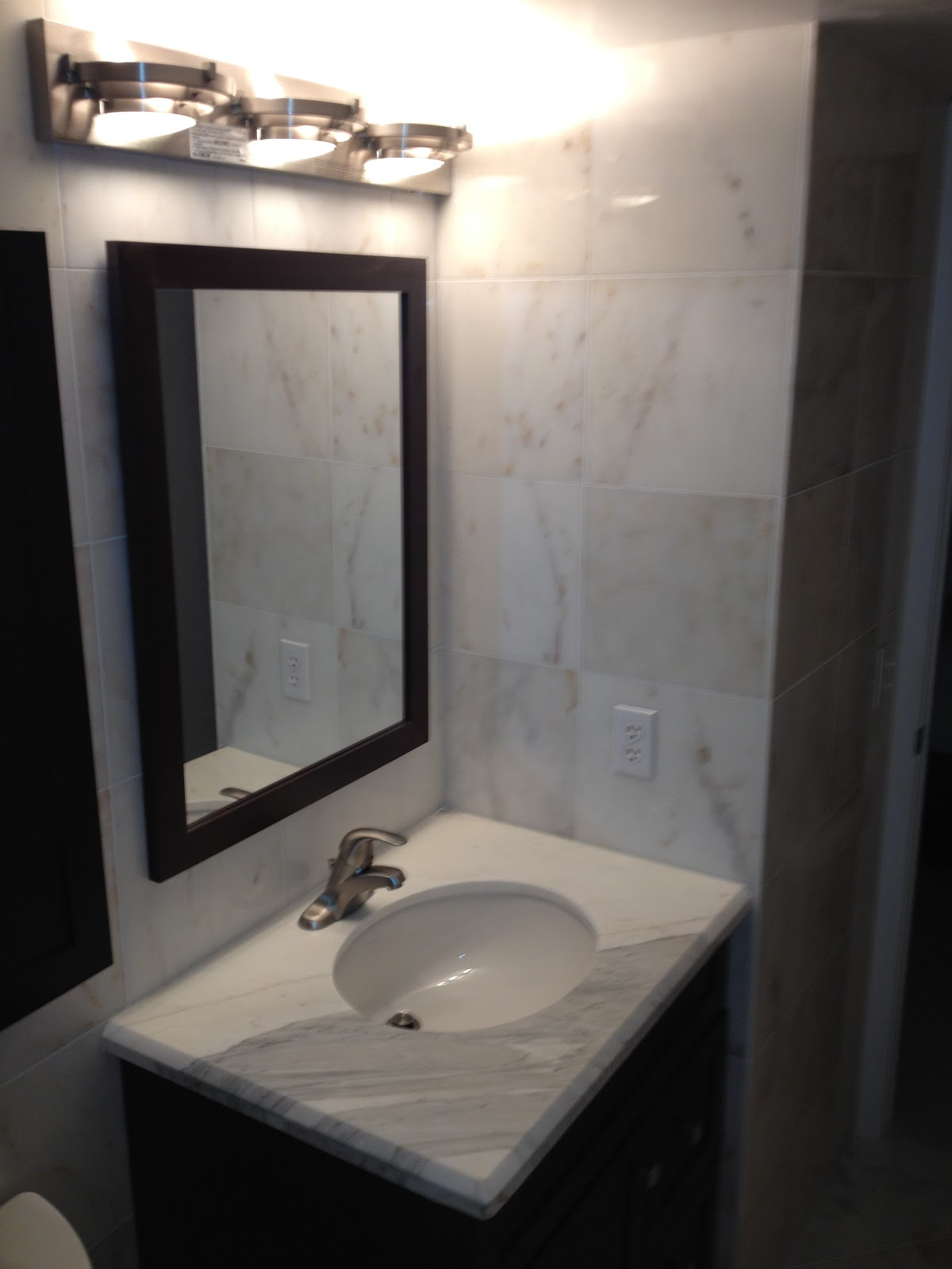 KG Marble Designs Inc Remodeling Bathroom Afyon Sugar Marble - Bathroom remodeling boynton beach fl