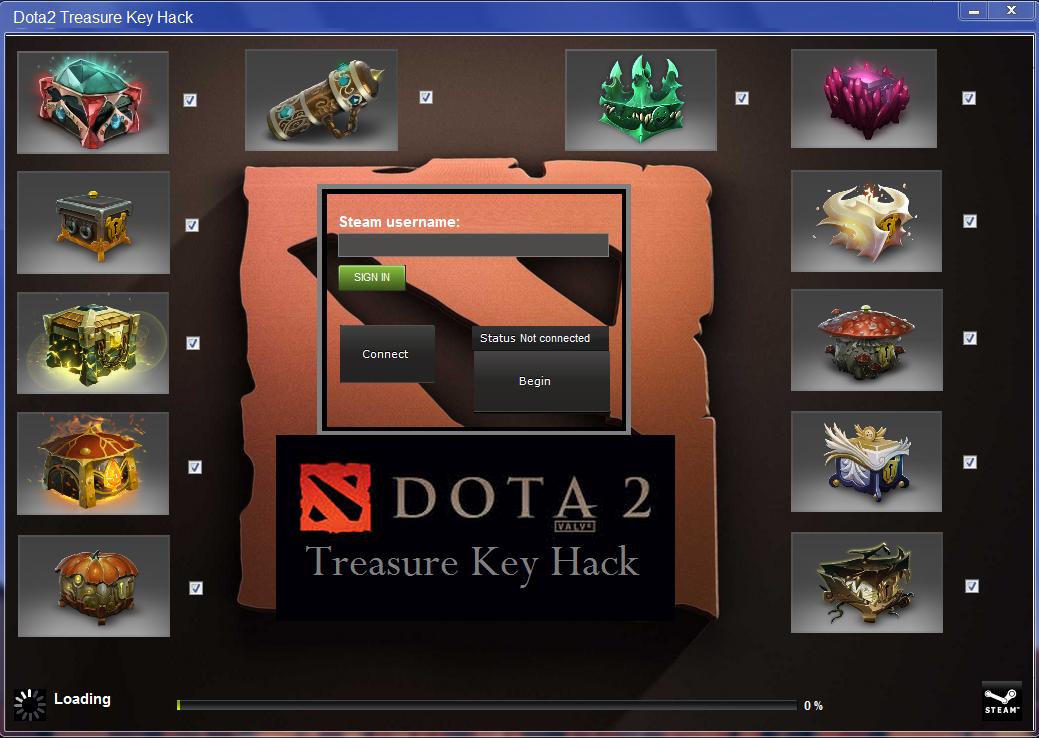 dota 2 treasure key hack