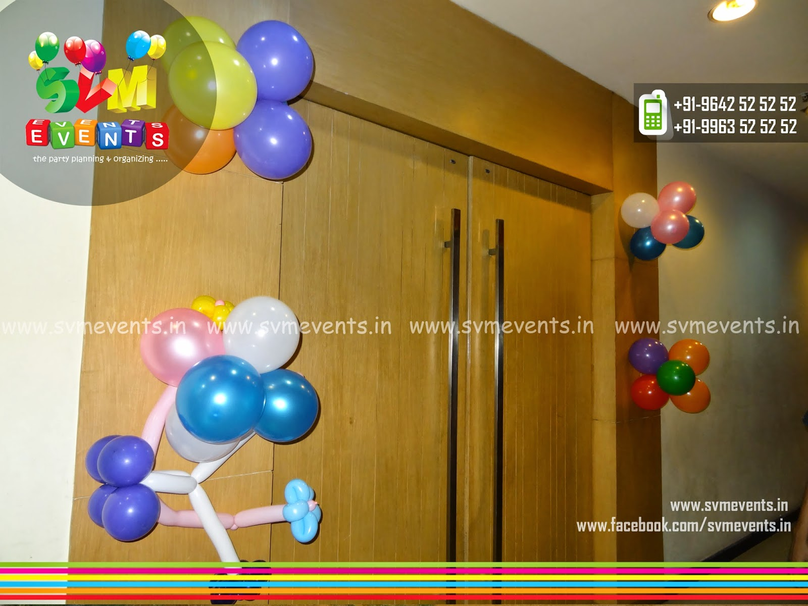 Svm Events : 4. Balloon decorations ( Reguler )