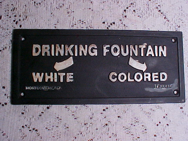 Segregation Signs