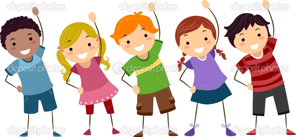 Kids Exercise Cartoon Images Depositphotos_9548754-kids-exercise ...