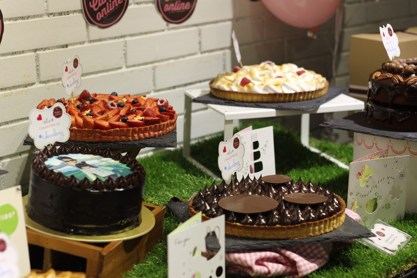 Cakesonline Cakes Delivery Singapore Jacqsowhat Food Travel
