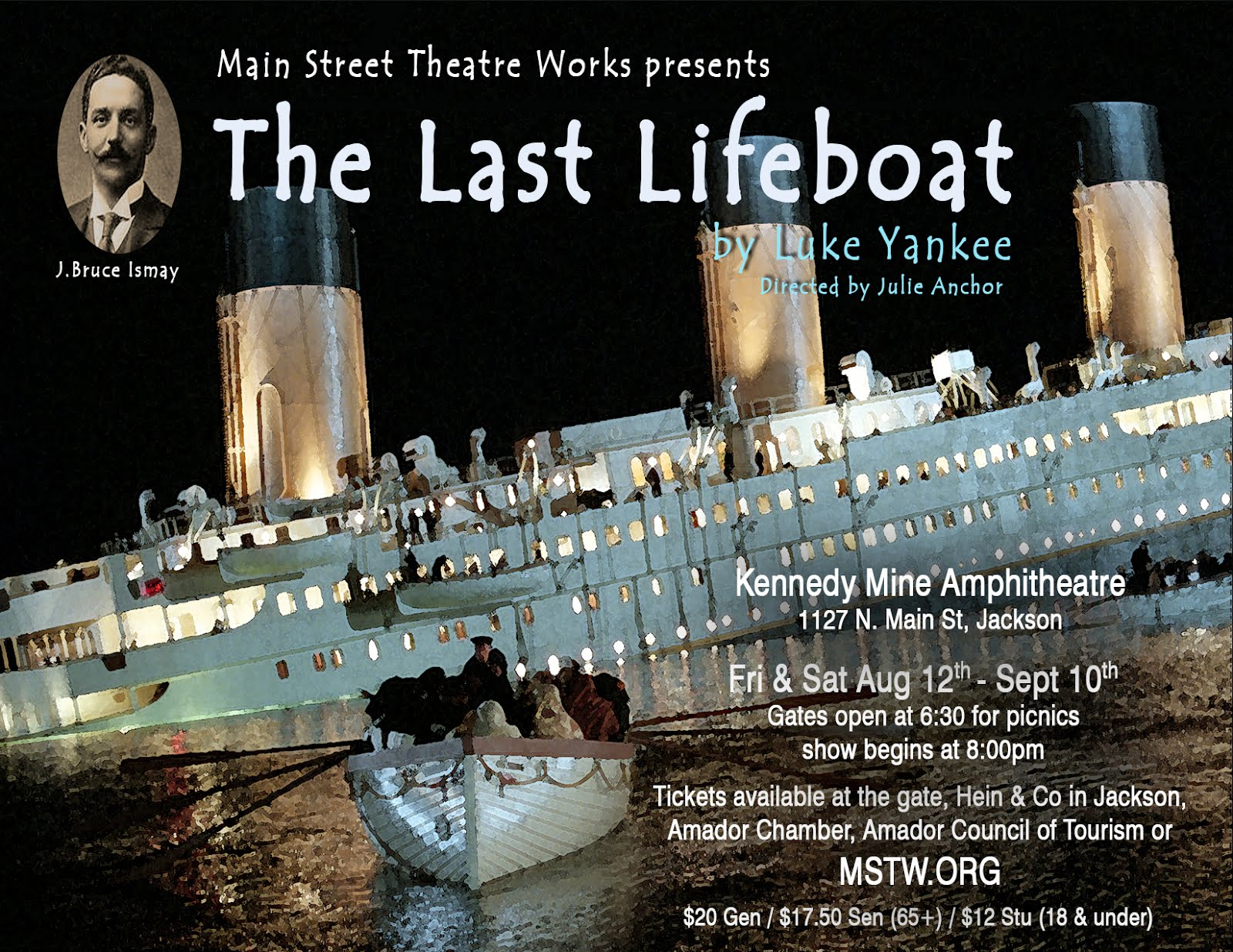"MSTW's ""The Last Lifeboat"" - Aug 12-Sept 10"