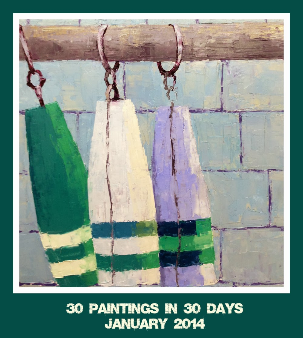 30 Canvases in 30 Days