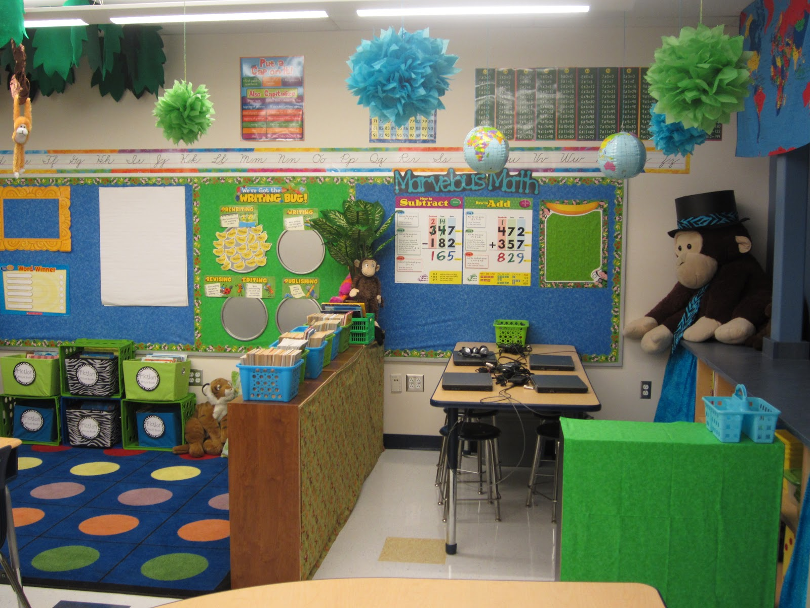 Middle School Reading Classroom Decorations ~ Creative classroom decorating ideas for middle school
