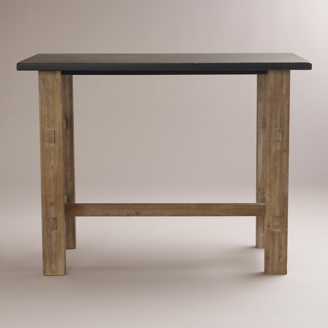 Copy Cat Chic Crate And Barrel District High Dining Table