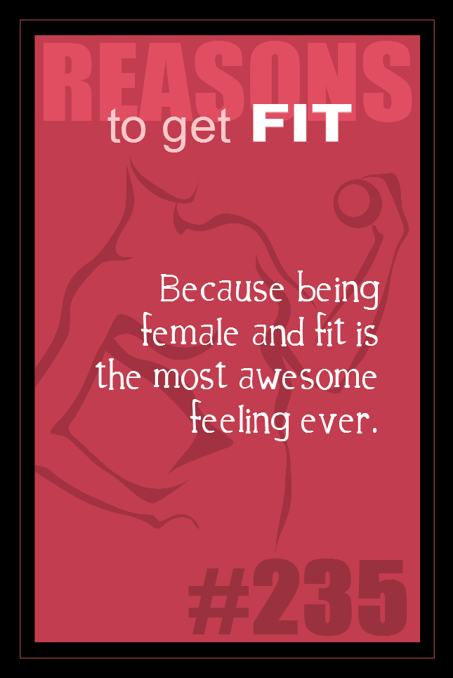 365 Reasons to Get Fit #235