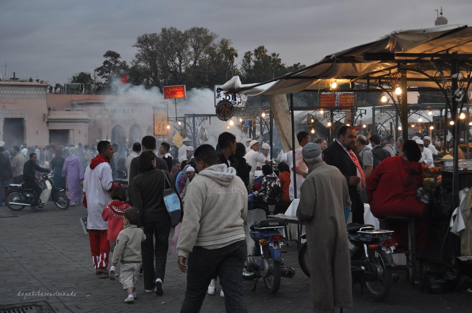 Plaza Djemaa el-Fna