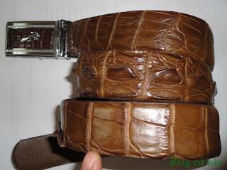 thắt lưng da cá sấu L26