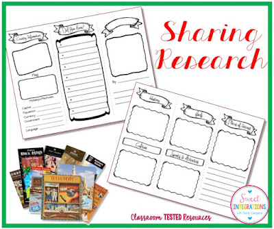 Ways to present country research with travel brochure