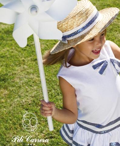 PILI CARRERA COLECCIONES DE MODA INFANTIL CELEBRAN 50 AÑOS