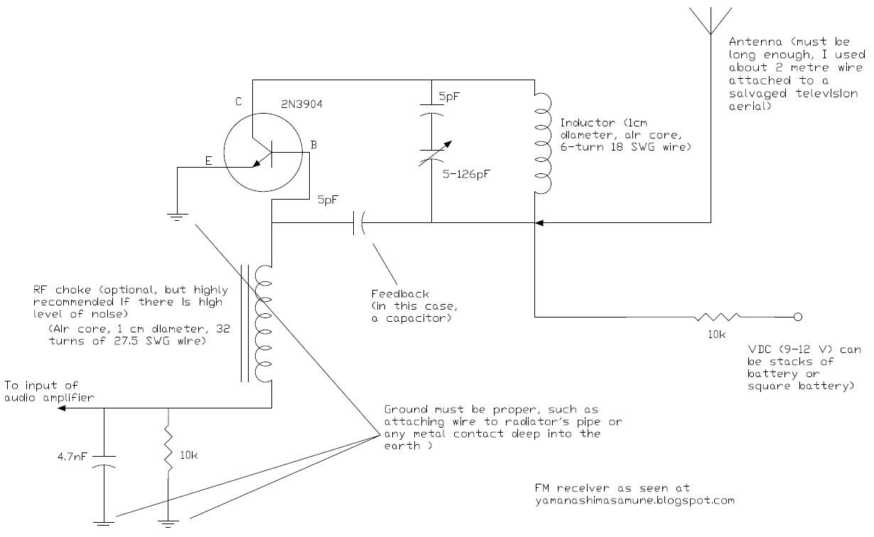 Thorpnics 2012 Simple Audio Preamplifier Circuit Using Single Transistor 2n3904 Wednesday 13 June