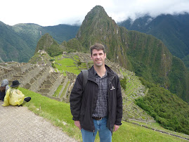 Chris at Machu Picchu, Peru