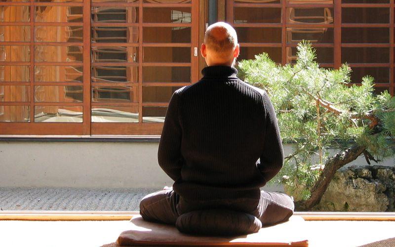 Meditación sentado