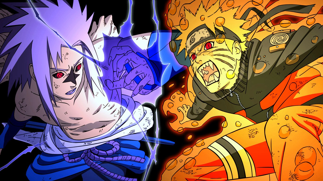 Naruto Vs. Sasuke HD Wallpapers