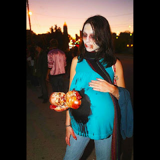 бебе стърчи корем хелоуин костюм