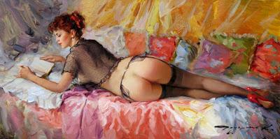Derrier Pinturas De Desnudos