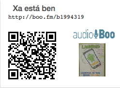 Captura o QR e lévate a canción: