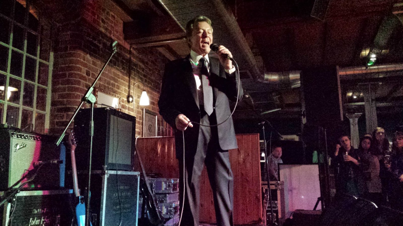 James Darren performing live