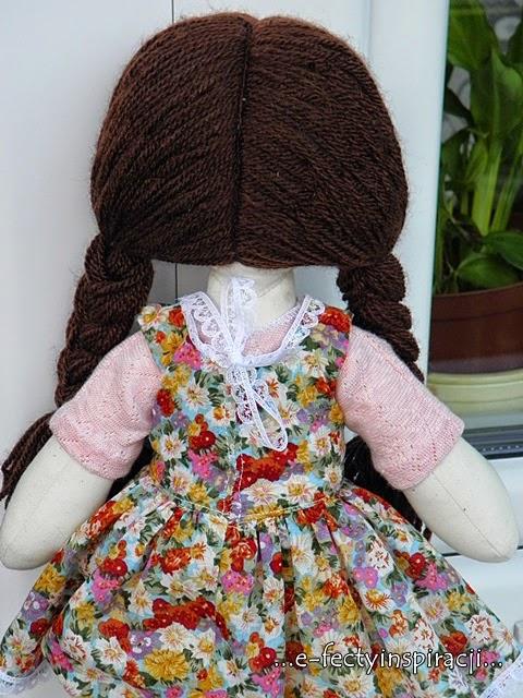 włosy dla lalki
