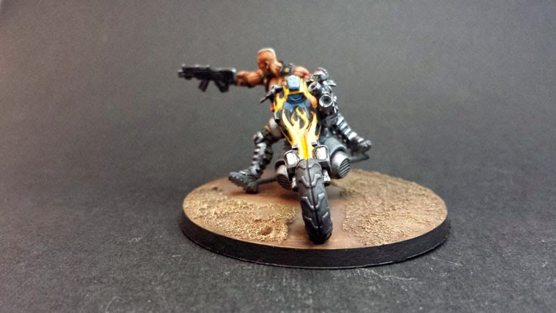 KUM MOTORIZED TROOPS - HAQQISLAM - INFINITY THE GAME 3