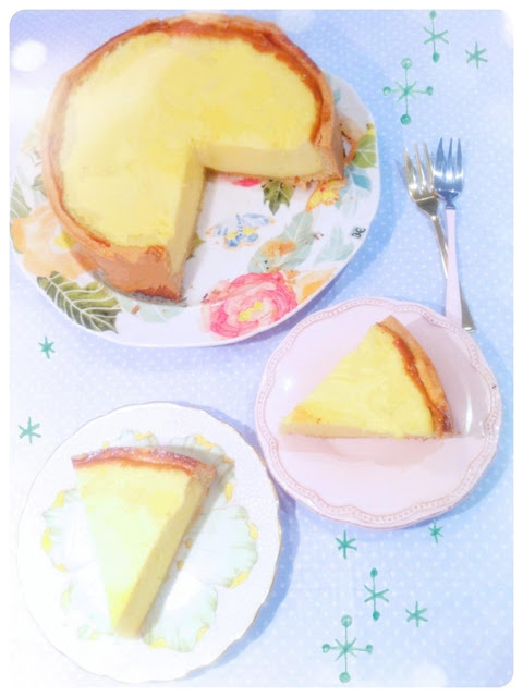 Cherie Kelly's Deep Egg Custard Tart