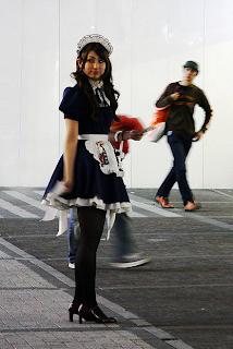 Ragazza maid ad Akibahara, Tokyo