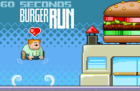60 Second Burger Run Unblocked game 4 free online