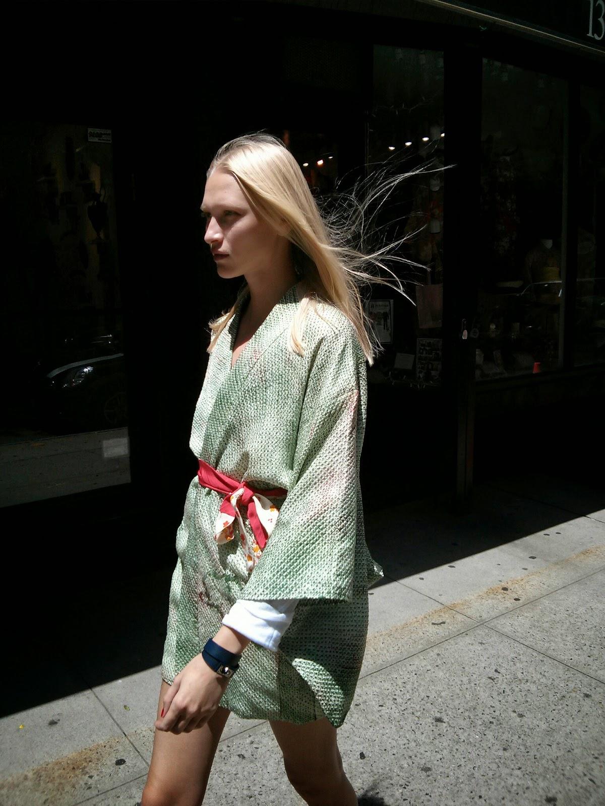 Kimono robe in NY