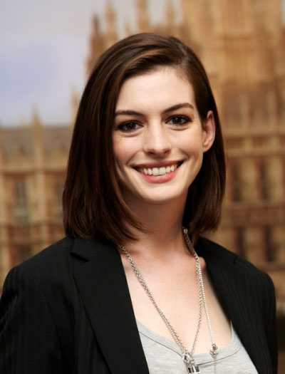 medium haircuts 2011 pictures. Anne Hathaway Hairstyles