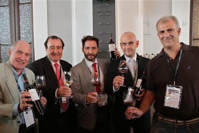 Javier Gila, Jaime Comenge, Álvaro Comenge,David Robledo y Javier Herrera.