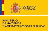 Ministerio Hacienda y administracion publica