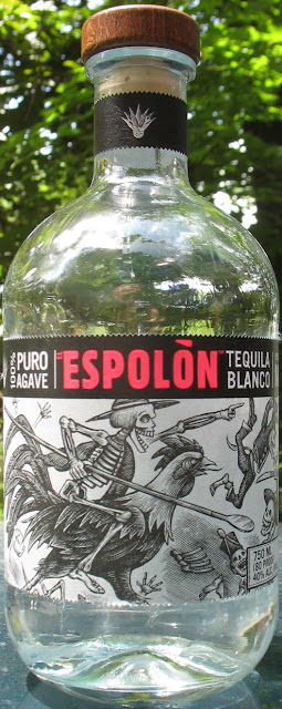Bottle of Espolon Tequila Blanco