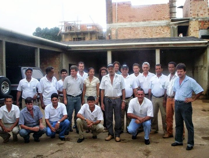 Equipe da ex sucam do Municipio de Jaru Ro.