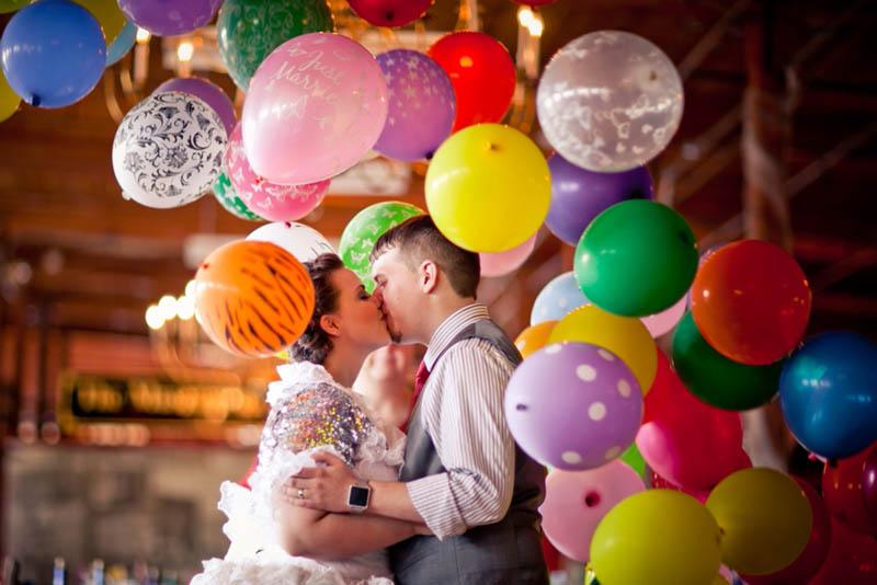 The Confetti Bar; wedding photo