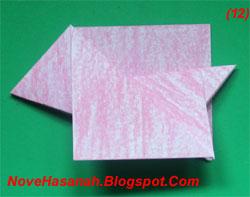 origami ini sangat mudah sekali dibuat