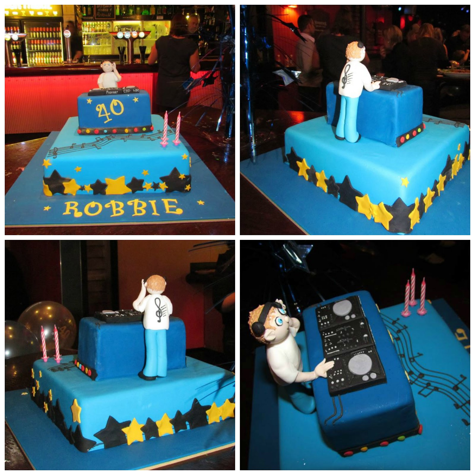 Penny's Parties: Robbie's 40th